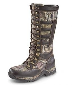 Guide Gear Best Men's Leather Side-Zip Snake Boots
