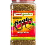 I Must Garden Snake Repellent Powerful All-Natural Protection – 5 lb Granular Shaker Jar